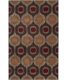 RugStudio presents Rugstudio Sample Sale 73196R Dark Chocolate Hand-Tufted, Best Quality Area Rug