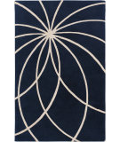 RugStudio presents Surya Forum Fm-7186 Dark Blue Hand-Tufted, Best Quality Area Rug