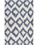 RugStudio presents Rugstudio Sample Sale 73219R Mediterranean Blue Woven Area Rug
