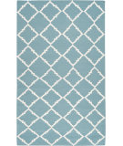 RugStudio presents Surya Frontier Ft-221 Dark Robin's Egg Blue Woven Area Rug