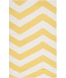 RugStudio presents Surya Frontier Ft-278 Sunshine Yellow Woven Area Rug