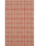 RugStudio presents Rugstudio Sample Sale 88350R Poppy Red Woven Area Rug
