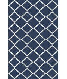 RugStudio presents Rugstudio Sample Sale 88364R Midnight Blue Woven Area Rug