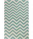 RugStudio presents Rugstudio Sample Sale 88367R Sea Blue Woven Area Rug