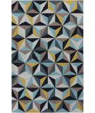 RugStudio presents Surya Frontier FT-549 Slate / Gold / Teal Flat-Woven Area Rug