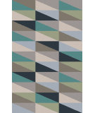 RugStudio presents Surya Frontier FT-556 Teal / Gray Flat-Woven Area Rug