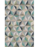 RugStudio presents Surya Frontier FT-560 Gray / Blue / Green Flat-Woven Area Rug