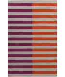 RugStudio presents Surya Frontier FT-565 Neutral / Orange / Violet (purple) Flat-Woven Area Rug