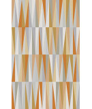 RugStudio presents Surya Frontier FT-580 Gray / Green / Orange Woven Area Rug
