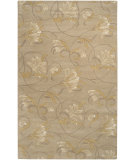 RugStudio presents Rugstudio Sample Sale 8411R Light Brown Hand-Tufted, Good Quality Area Rug
