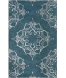 RugStudio presents Surya Henna HEN-1003 Neutral / Blue Area Rug