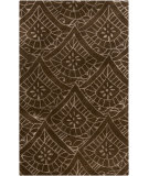 RugStudio presents Surya Henna HEN-1004 Chocolate Hand-Tufted, Good Quality Area Rug