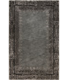RugStudio presents Surya Henna HEN-1005 Black / Gray Hand-Tufted, Good Quality Area Rug