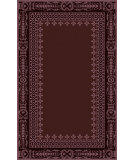RugStudio presents Surya Henna HEN-1008 Burgundy Hand-Tufted, Good Quality Area Rug