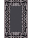 RugStudio presents Surya Henna HEN-1009 Slate / Black Hand-Tufted, Good Quality Area Rug