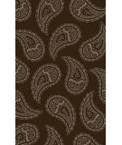 RugStudio presents Surya Henna HEN-1010 Chocolate / Light Gray Hand-Tufted, Good Quality Area Rug