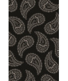 RugStudio presents Surya Henna HEN-1013 Black / Gray Hand-Tufted, Good Quality Area Rug