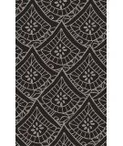 RugStudio presents Surya Henna HEN-1016 Black / Light Gray Hand-Tufted, Good Quality Area Rug