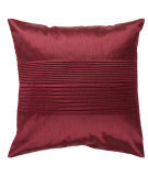 RugStudio presents Surya Pillows HH-026 Burgundy