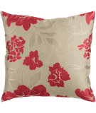 RugStudio presents Surya Pillows HH-047 Cherry/Olive