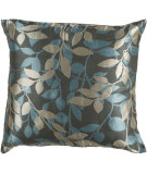 RugStudio presents Surya Pillows HH-059 Charcoal/Teal