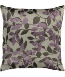 RugStudio presents Surya Pillows HH-062 Light Gray/Mauve