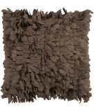 RugStudio presents Surya Pillows HH-073 Brown