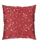 RugStudio presents Surya Pillows HH-093 Cherry/Gold