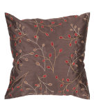 RugStudio presents Surya Pillows HH-094 Chocolate