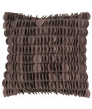 RugStudio presents Surya Pillows HH-104 Chocolate