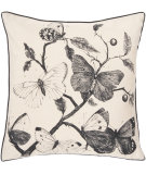 RugStudio presents Surya Pillows HH-121 Beige/Black