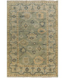 RugStudio presents Surya Hillcrest HIL-9017 Yellow / Green Area Rug