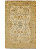 RugStudio presents Surya Hillcrest HIL-9020 Butter / Green Hand-Knotted, Best Quality Area Rug