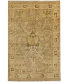 RugStudio presents Surya Hillcrest HIL-9021 Green / Yellow / Neutral Hand-Knotted, Best Quality Area Rug