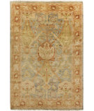 RugStudio presents Surya Hillcrest HIL-9022 Neutral / Yellow / Green Area Rug