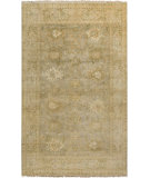 RugStudio presents Surya Hillcrest HIL-9024 Neutral / Green Hand-Knotted, Best Quality Area Rug
