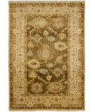 RugStudio presents Surya Hillcrest HIL-9027 Olive / Yellow / Tan Hand-Knotted, Best Quality Area Rug