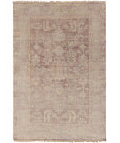 RugStudio presents Surya Hillcrest Hil-9032 Eggplant Hand-Knotted, Good Quality Area Rug