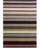 RugStudio presents Surya Harlequin HQL-8025 Taupe / Violet (purple) / Blue / Green Hand-Tufted, Good Quality Area Rug
