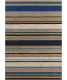 RugStudio presents Surya Harlequin HQL-8026 Neutral / Orange / Blue / Green Hand-Tufted, Good Quality Area Rug