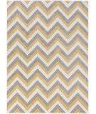 RugStudio presents Surya Horizon Hrz-1040 Gold/ Grey Machine Woven, Good Quality Area Rug