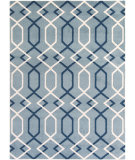RugStudio presents Surya Horizon Hrz-1051 Blue Machine Woven, Good Quality Area Rug