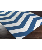 RugStudio presents Surya Horizon Hrz-1053 Cobalt Machine Woven, Good Quality Area Rug
