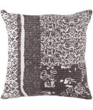 RugStudio presents Surya Pillows HSK-119 Charcoal/Ivory