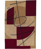 RugStudio presents Surya Naya Hst-3005 Red / Beige Hand-Tufted, Good Quality Area Rug