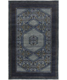 RugStudio presents Surya Haven HVN-1218 Navy / Blue / Green Hand-Knotted, Best Quality Area Rug