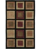 RugStudio presents Surya Mugal IN-8005 Black Olive Hand-Knotted, Good Quality Area Rug