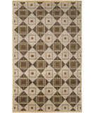 RugStudio presents Surya Mugal IN-8008 Sand Beige Hand-Knotted, Good Quality Area Rug