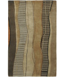 RugStudio presents Surya Mugal IN-8020 Cocoa Black Hand-Knotted, Good Quality Area Rug