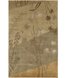 RugStudio presents Surya Mugal IN-8056 Tan Beige Hand-Knotted, Good Quality Area Rug